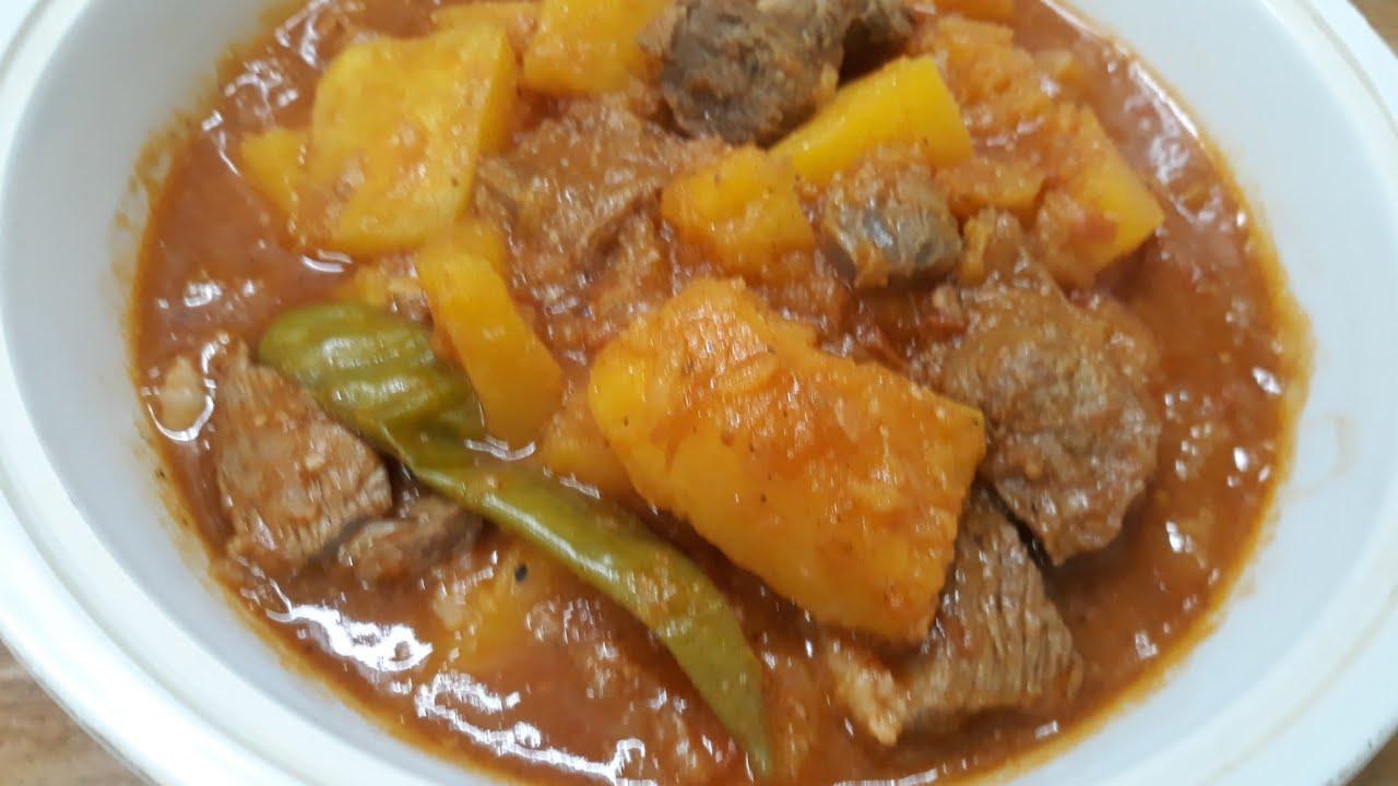 News Magazine ዱባ በስጋ ወጥ አሰራርNews Magazine Ethiopian Food: ዱባ በስጋ ወጥ አሰራር