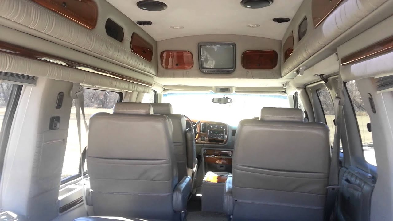 2001 Gmc Savana Conversion Van For Sale Youtube