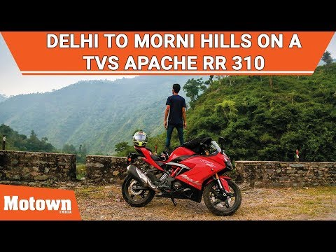 Delhi to Morni Hills on a TVS Apache RR 310 | Sponsored Feature