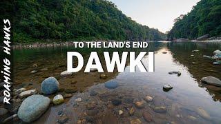 Meghalaya travel log - Dawki