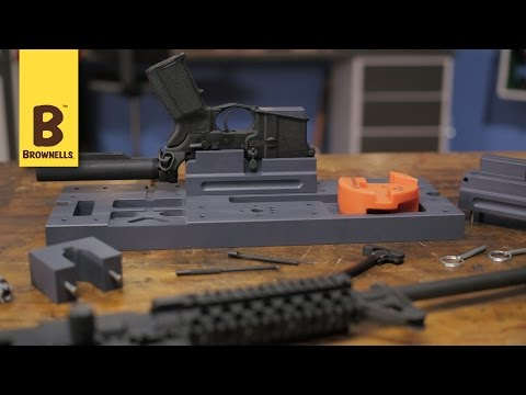 Present Arms AR-15 Gunners Mount and Accessories