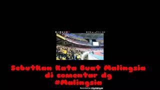 Suporter Malaysia Ejek Indonesia Anjing #Malingsia