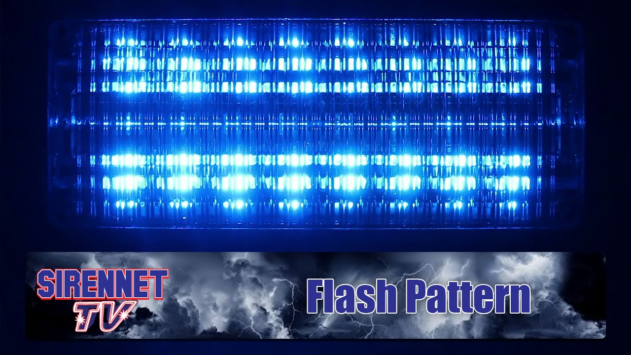 Flash Pattern: Whelen 700 Series Linear Super-LED Lighthead on