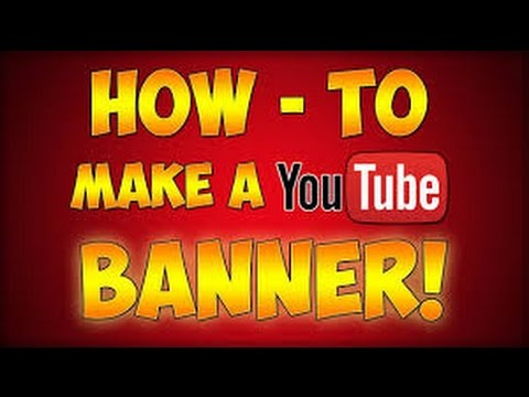how to make a youtube banner for free