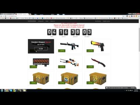 Do NOT Visit These CSGO Sites! Scam Alert! - YouTube