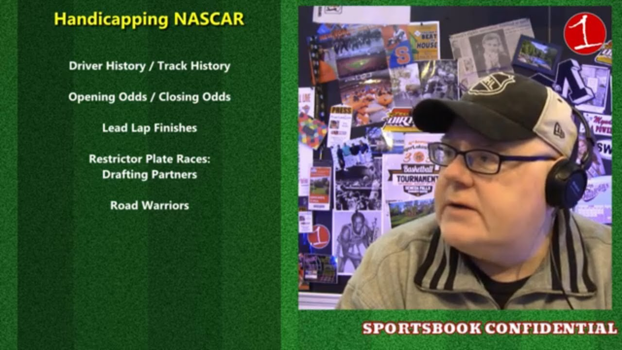 How to bet NASCAR .::. John Sullivan's Sportsbook Confidential (podcast)