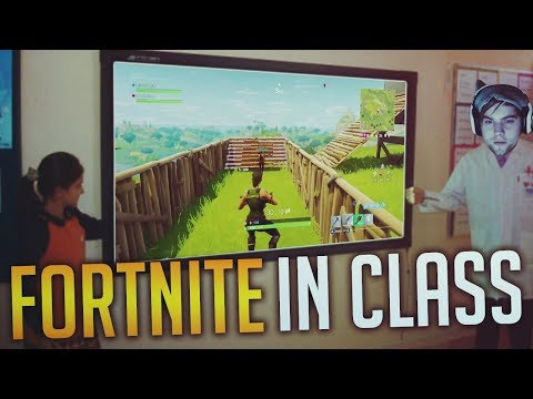 DAKOTAZ TEAMMATE IN CLASS PLAYING FORTNITE - Fortnite Battle Royale WTF & Funny Moments Episode. 56