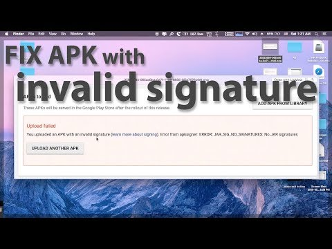 FIX APK with an invalid signature - YouTube