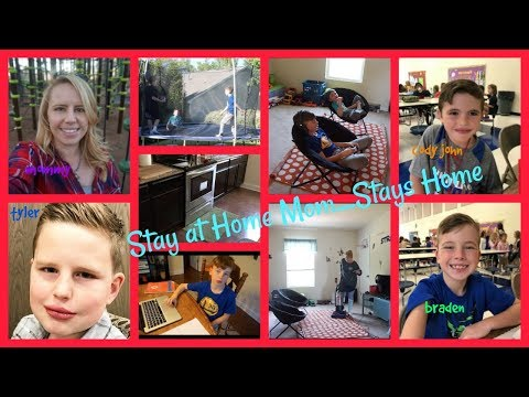 Stay at Home Mom....Stays Home || The Mom Life