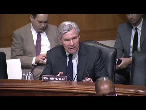 Whitehouse Remarks in Environment & Public Works Committee Nominations Hearing, June 13, 2017