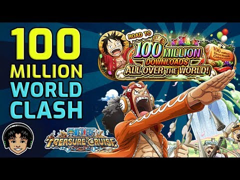 100,000,000 Download World Clash Event! [One Piece Treasure Cruise]