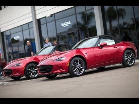 2016 Mazda MX-5 Launch Edition Delivery   Mazda USA