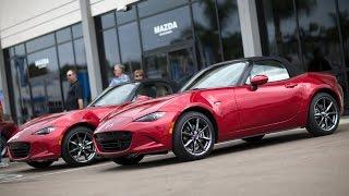 2016 Mazda MX-5 Launch Edition Delivery | Mazda USA