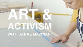 Art + Activism with Sanaz Mazinani | KQED Arts