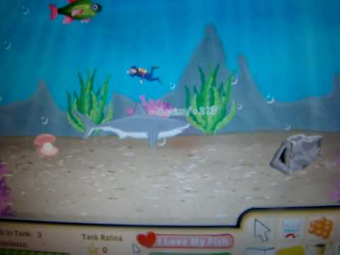 Facebook games fish world shark eating fish for Fish world on facebook