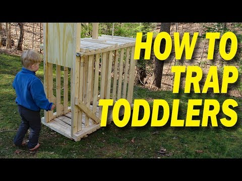 How to trap and relocate children - Parenting Hack