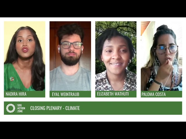 Closing Plenary – Climate