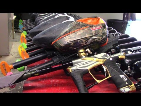 Planet Eclipse EGO LV1.5 Paintball Gun  - Review - Shooting - Gameplay