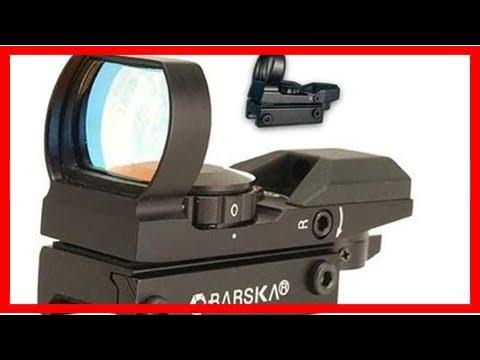 為什麼全息瞄準鏡要比紅點瞄準鏡好用呢? - YouTube