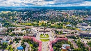 Петрозаводск, Карелия  - аэросъёмка