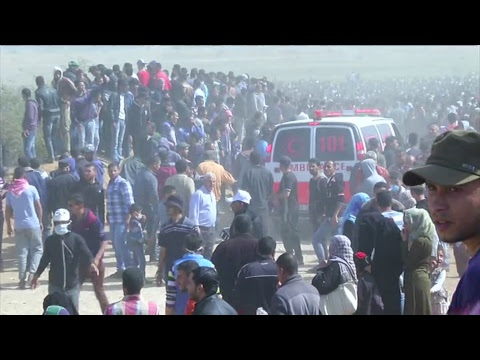 LIVE: Gaza protests continue during March of Return