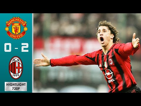 Manchester United Vs AC Milan 0-2 Highlights U0026 Goals - Round Of 16 | UCL 2004/2005