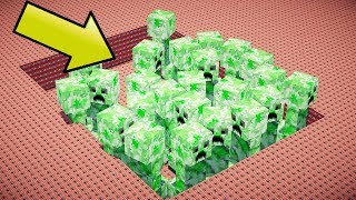 100,000 TNT VS GIANT CREEPERS | Minecraft