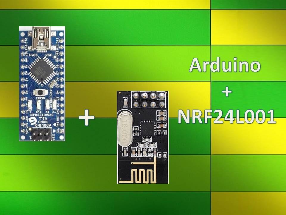 Wireless Remote Using 2 4 Ghz NRF24L01 : Simple Tutorial Using of NRF24L01  & Arduino