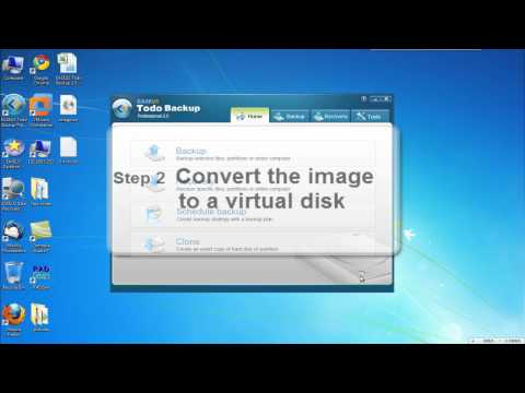 P2V solution - migrate/convert physical system to virtual