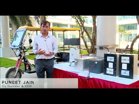 Grinntech,  a lithium battery technology company - An IITM Incubated Startup