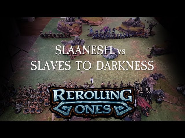 Age of Sigmar - Slaanesh VS Slaves To Darkness - 1500 Points Matched Play