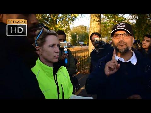 Silencing Cries! Hashim Vs Lizzie   Speakers Corner   Hyde Park