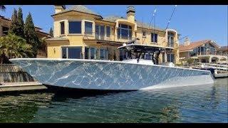1400 Hp & 70mph: Seahunter Tournament 45 - One Wake
