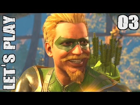 INJUSTICE 2 (FR) - 03 - MODE HISTOIRE : GREEN ARROW | LET'S PLAY PS4 Pro