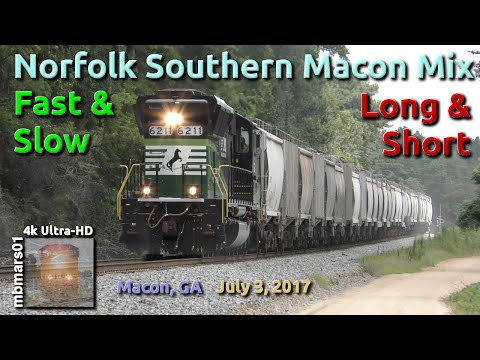 [5H] Norfolk Southern Macon Mix: Fast & Slow, Long & Short,