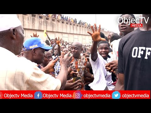 Massive: EndSARS Protest at Sango-Ota, Ogun State