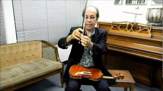 How to Play Iranian / Persian Violin, Lesson 2 by Loghman Adhami, International Music School
