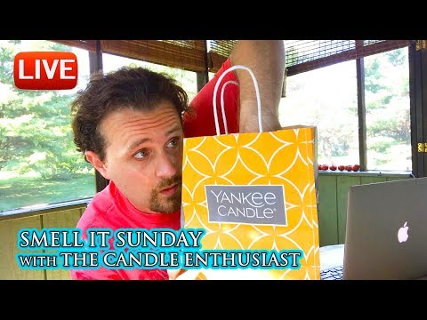 LIVE - Yankee Candle CASCADING SNOWBERRY - NEW Enthusiast! - What's To Come