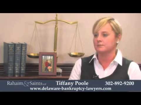 Filing Bankruptcy in Wilmington | Tiffany Poole, Rahaims & Saints Delaware