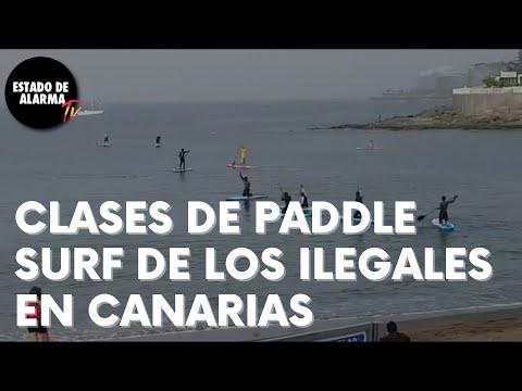 Clases de PADDLE SURF de los Invasores en CANARIAS