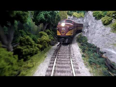 Maine Central and Boston & Maine Model Railroad – Passenger Trains on the P&O, Ho Scale Layout: 2020