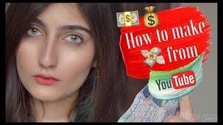 HOW YOUTUBERS MAKE MONEY ?! EXPLAINED | Anushae Says