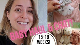 Baby HAUL & CHAT: Weeks 15-18!   Fleur De Vlog
