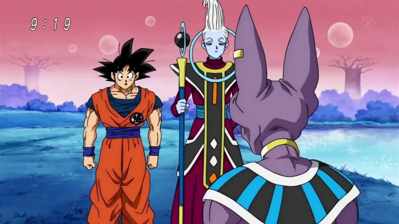 Image result for goku arrive beerus planet
