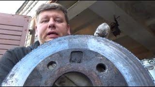 видео Ремонт тормозных дисков своими руками