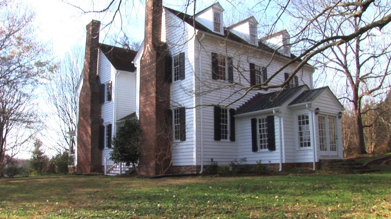 Hardscrabble NC Historic Home for sale - YouTube