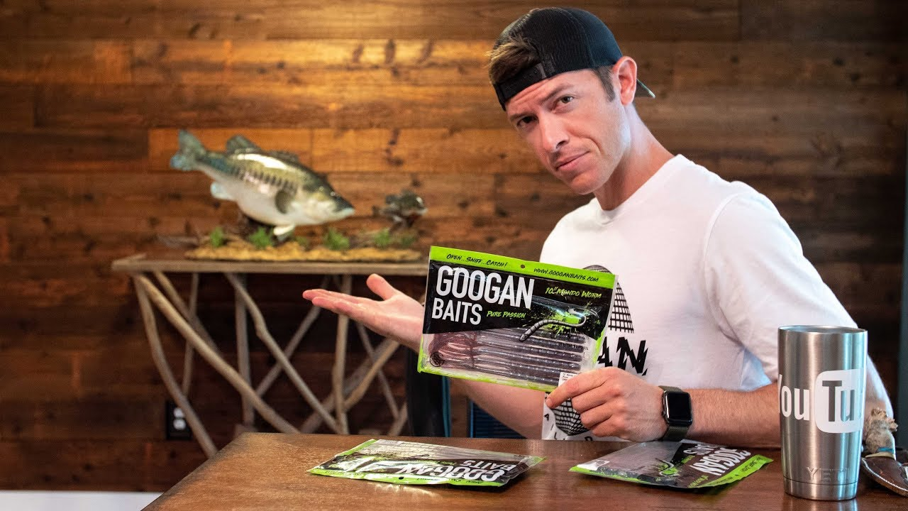 GOOGAN BAITS Mondo Worm Explained - NEW FISH CAVE!