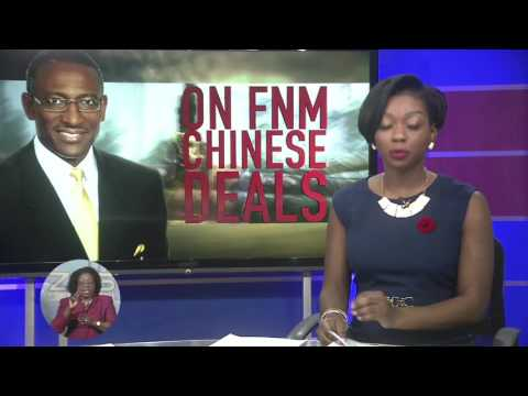 AGRICULTURE MINISTER ON F.N.M CHINESE DEALS