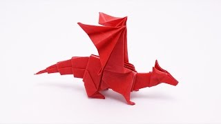 ORIGAMI DRAGON v2 (Jo Nakashima) - Dragon #9