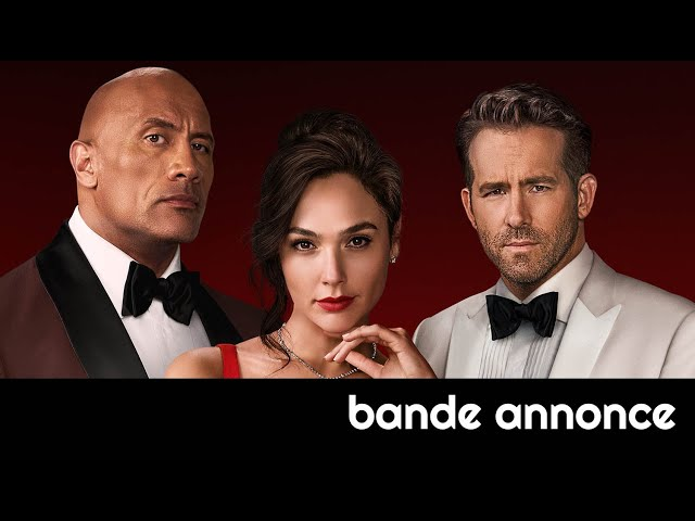 Red Notice (Netflix, Gal Gadot) : bande-annonce